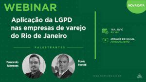 Aplicação da LGPD no Varejo – Webinar gratuito