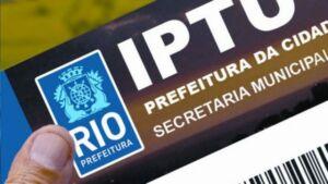 Município do Rio determina disponibilização de acesso eletrônico a meio de pagamento do IPTU 2021