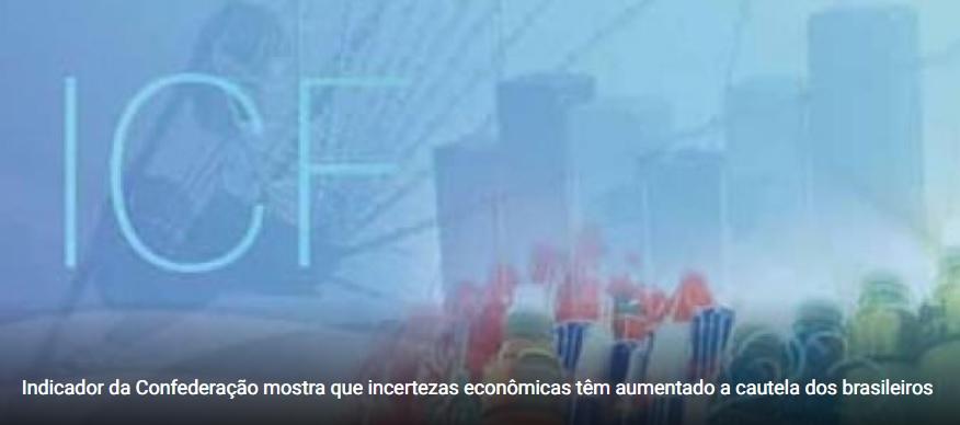Intenção de Consumo das Famílias no País recua, mas mantém nível elevado